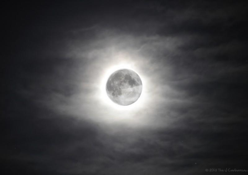 Hazy Super Moon [06.23.2013]